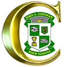 John A. Coleman Catholic High School logo