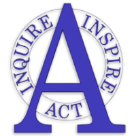 Alameda International Jr./Sr. High School logo