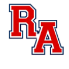 Riverside Academy High School logo