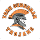 York Suburban High School logo
