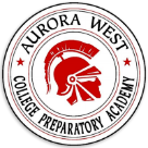 Aurora West College Preporatory Academy logo