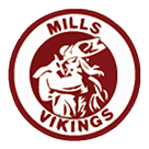 Mills High School logo