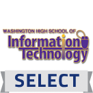 Washington High School of Information Technology logo