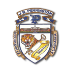 J B Pennington High School logo