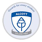 Alcott College Preparatory logo
