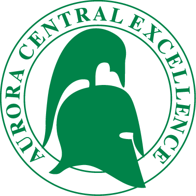 Aurora Central High School logo