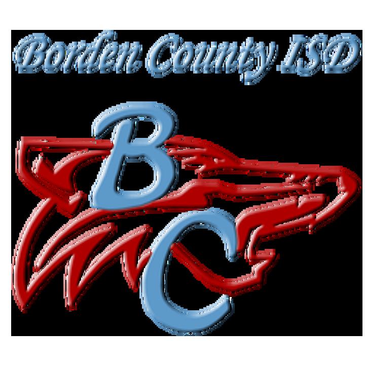 Borden County High School logo