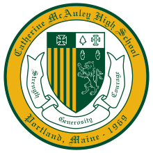 Catherine McAuley High School  logo