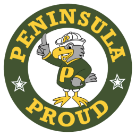 Peninsula High School logo