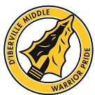 D'iberville Middle School logo