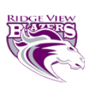 Ridge View High School logo