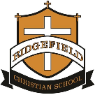 Ridgefield Christian School logo