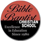 Bible Baptist Christian School logo