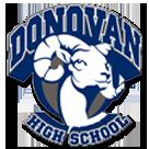 Monsignor Donovan High School logo