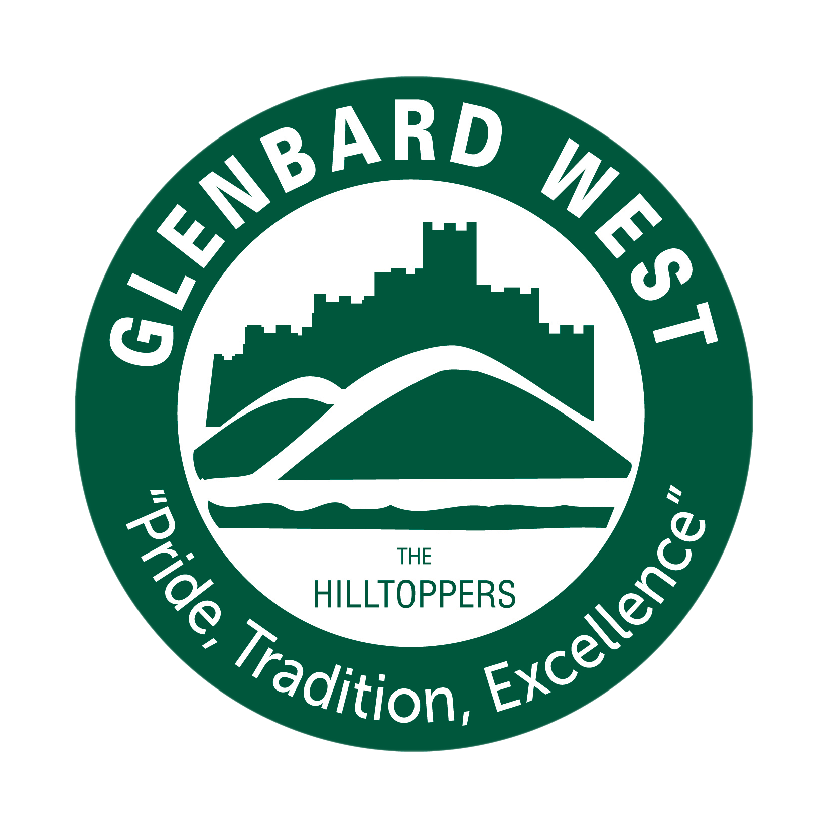 Glenbard West High School logo