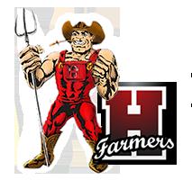 Hoehne High School logo