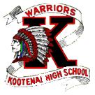 Kootenai Senior High School logo