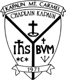 Kapaun Mount Carmel High School  logo