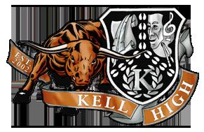 Kell High School logo