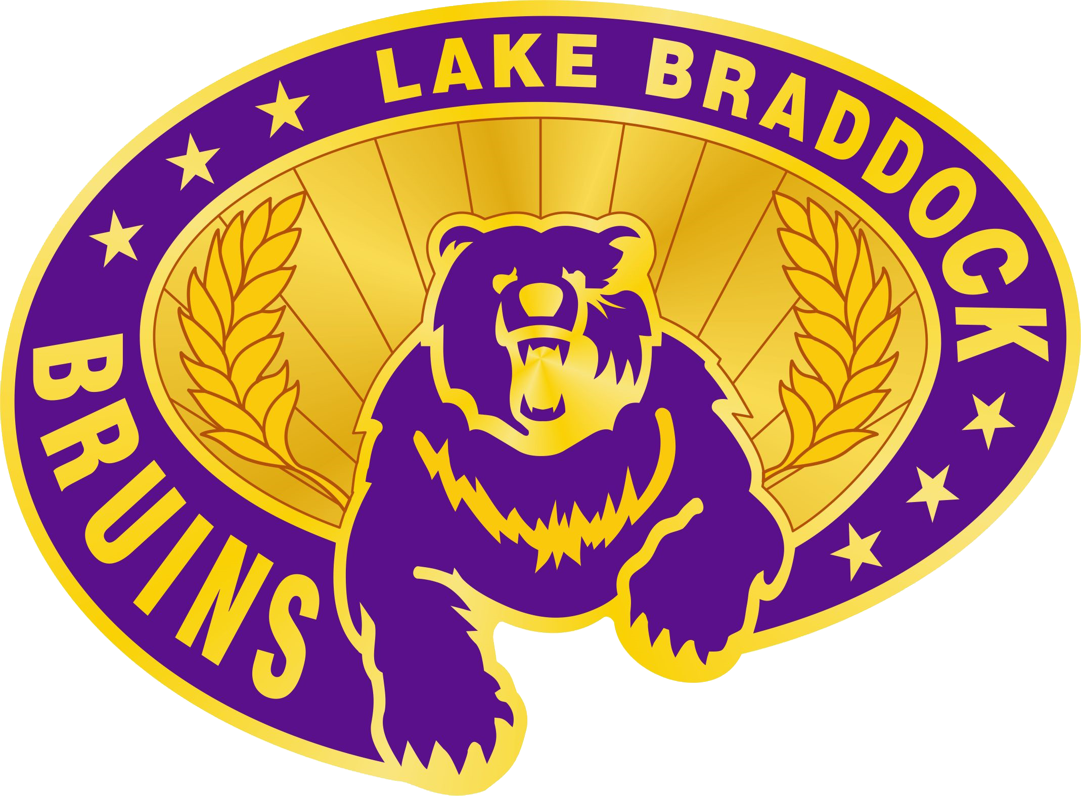 Lake Braddock Secondary School logo