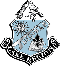 Lake Region High School logo