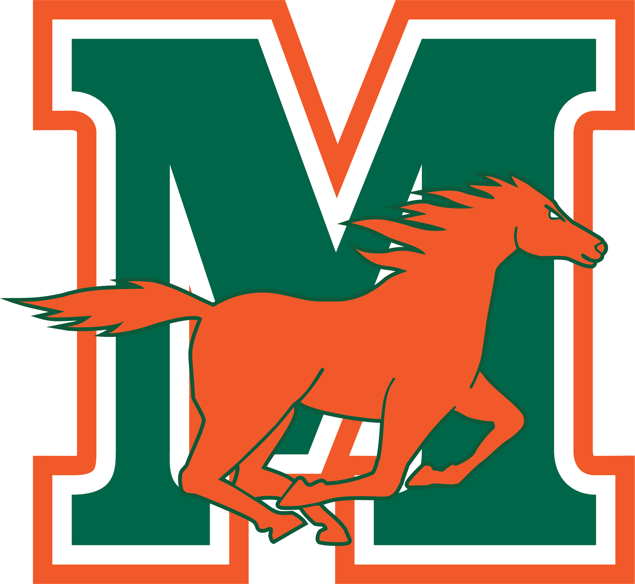 Mandarin High School logo