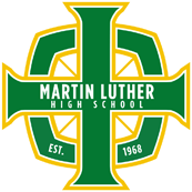 Martin Luther High School logo