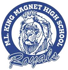 Martin Luther King Jr Magnet High School logo