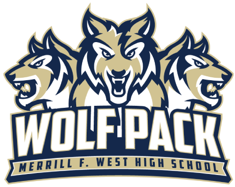 Merrill West High School logo