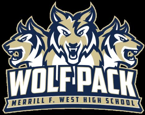 Merrill West High School logo
