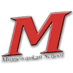 Minnewaukan High School logo