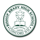 Bishop Brady High School logo