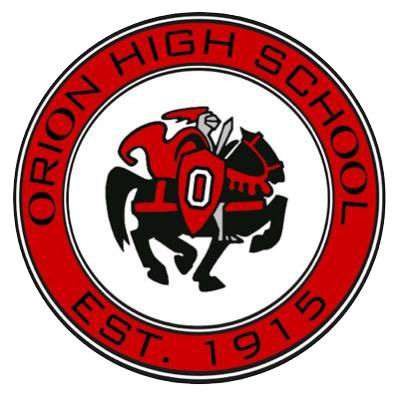 Orion High School logo