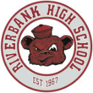 Riverbank High School logo