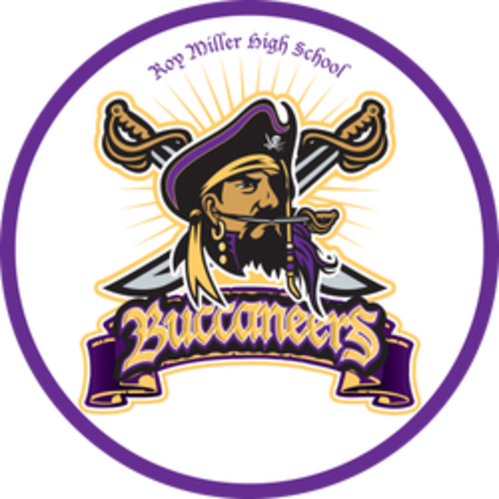 Roy Miller High School logo