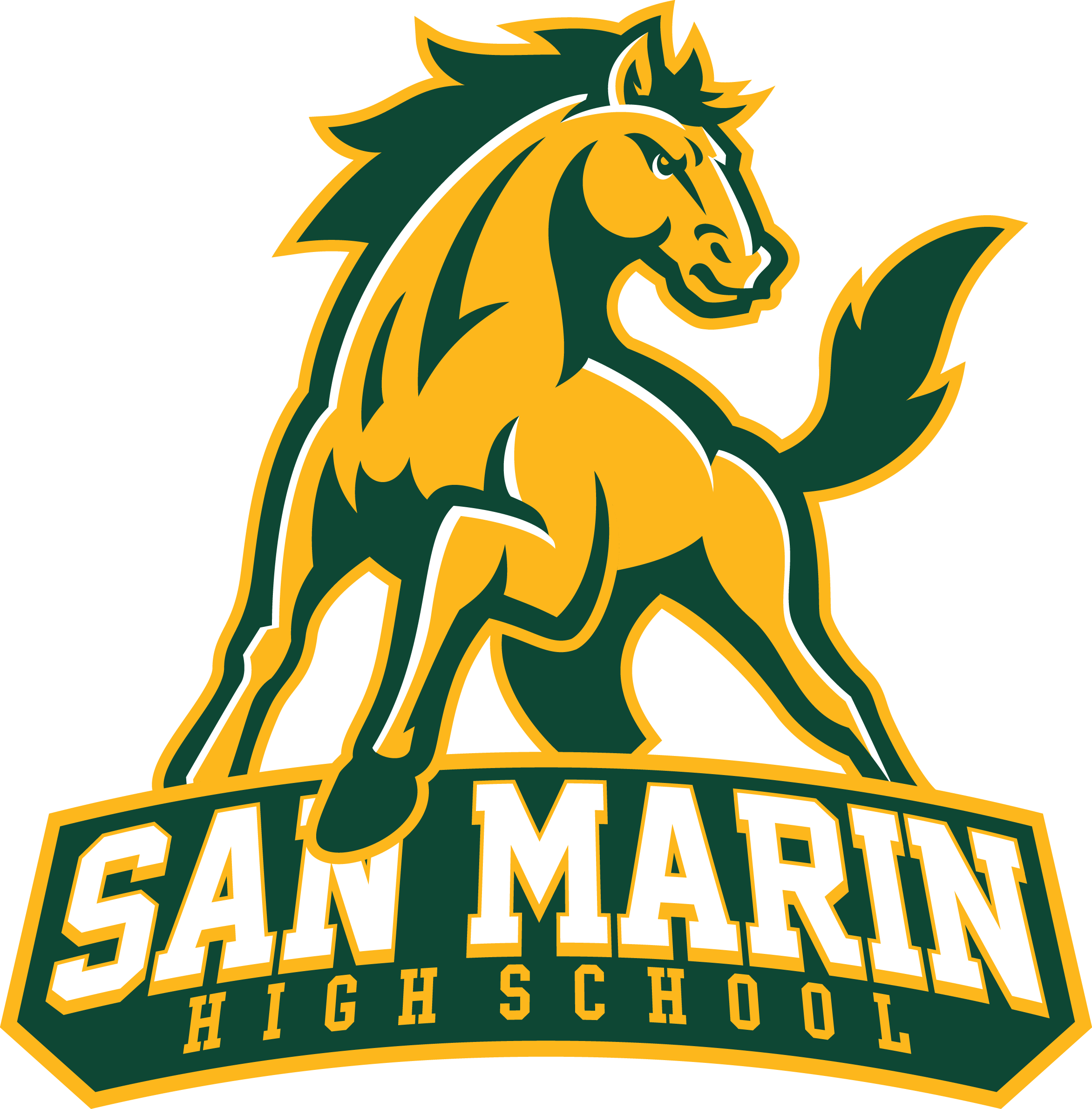 San Marin High School logo