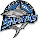 St. James High School logo