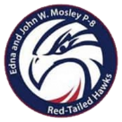 Edna and John W. Mosley P-8 logo