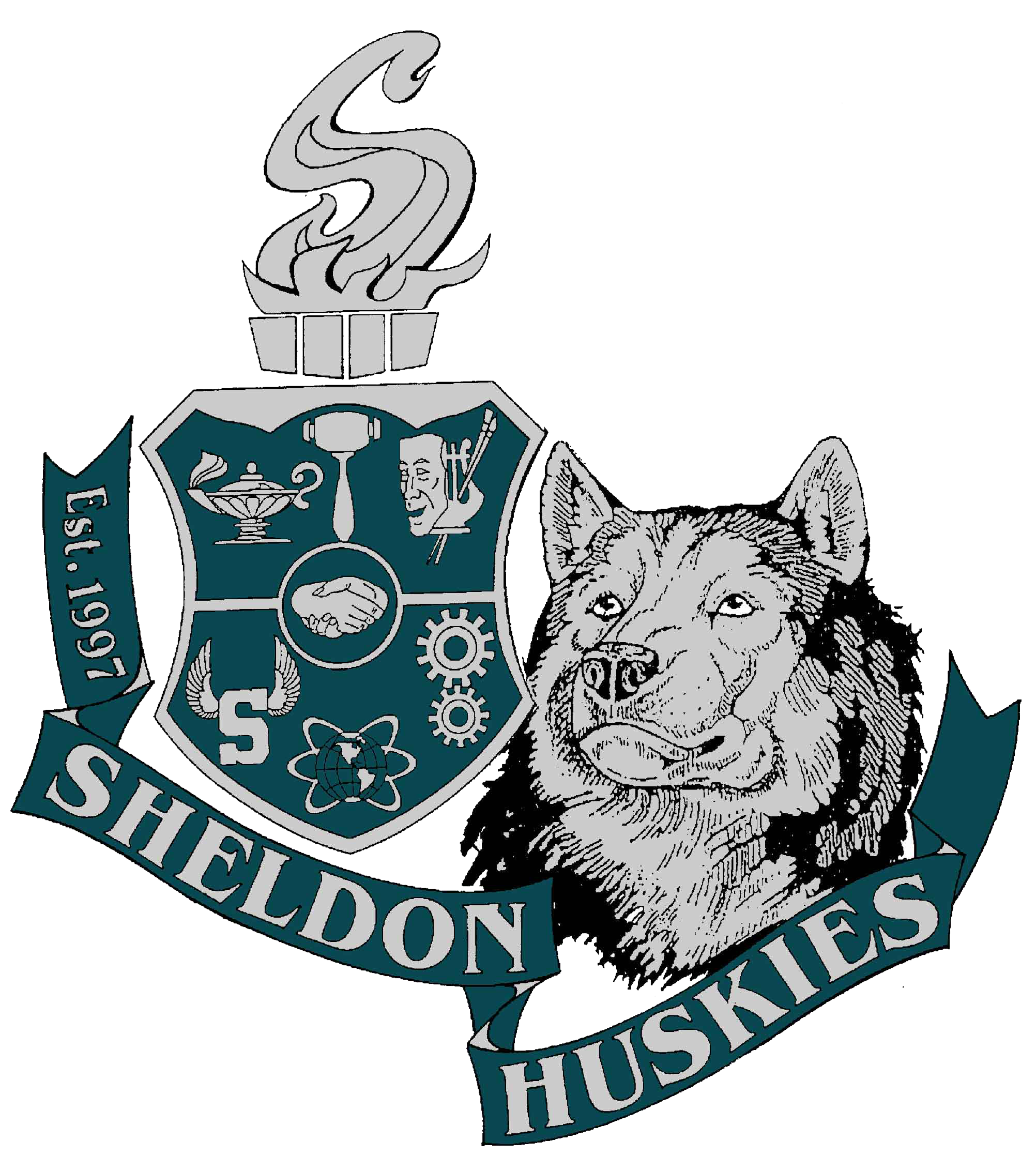 Sheldon High School logo
