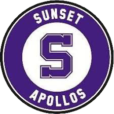 Sunset High School logo