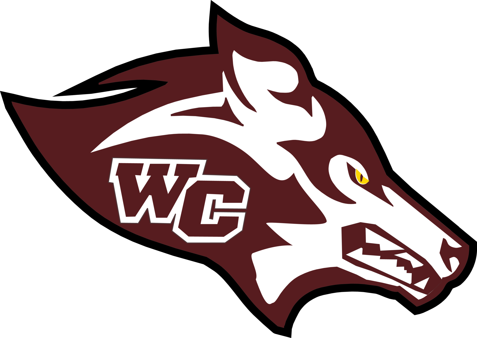 Watford City High School logo